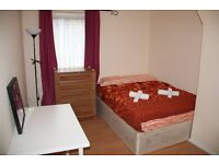 FULLY FURNISHED DOUBLE ROOM IN A NICE PROPERTY! LOVELY EUROPEAN FLATMATES