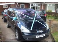 For spares or repairs, one recently serviced Renault (2004) Espace 2.2 Dci Expression.
