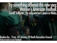 AMERICAN FOOTBALL WOMEN WANTED