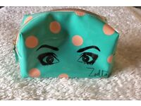 Zoella toiletry/bathroom bag with beauty products