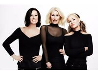 SELLING AT FACE VALUE £105 THE PAIR BANANARAMA TICKETS AMAZING SEATS BIRMINGHAM 23RD NOV