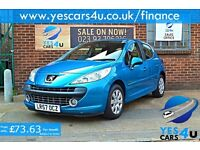 2007 (57) Peugeot 207 1.4, 66,000 Miles, Full service history,!!