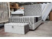ibex bed with ottoman box and mattress YBxH
