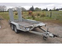 IFOR WILLIMAS GH94 2700KG PLANT TRAILER 2013 DEALER PX BARGAIN NO VAT VERY CLEAN
