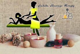 Natalia Massage Therapy *120 min full body massage *45 min back, neck& shoulders * facials *