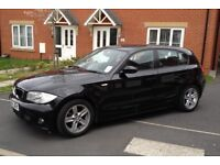 2005 BMW 1 SERIES 120D SPORT 170 BHP 6 SPEED 1 OWNER 2 KEYS LEATHER SPORT SEATS MOT8 MONTH HPI CLEAR
