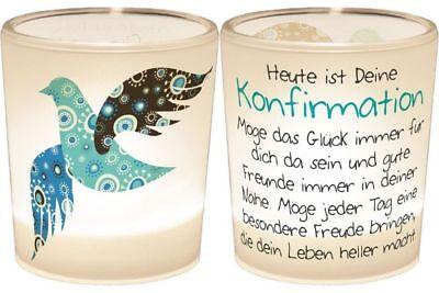 Ein Licht für Dich - Konfirmation Taube + PartyLite Teelicht GRATIS p. Kauf