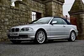 Stunning BMW 318ci convertable