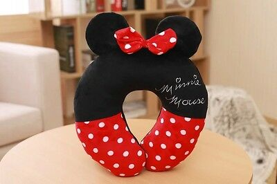 U Shape Neck Pillow Airplane Travel Pillows Minions Minnie Mickey Mouse the (Best Airplane Pillows)