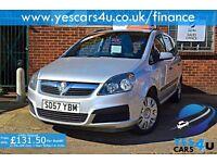 """ FINANCE AVAILABLE """" 2007 (57) Vauxhall Zafira 1.6 petrol, Great Family Car,"