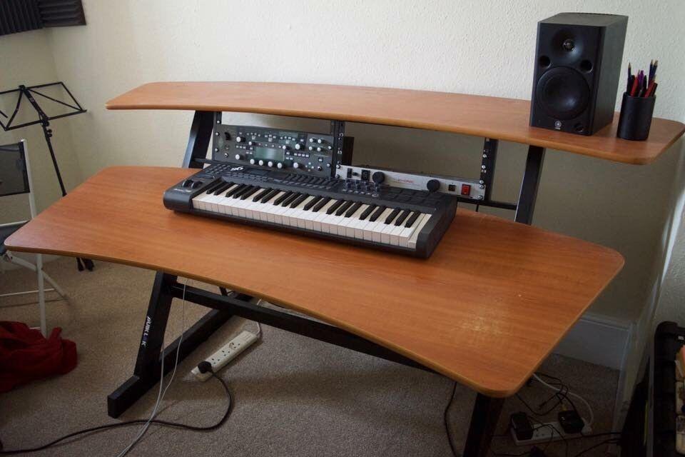 music studio production desk quicklok z600 - Music Production Desk