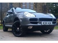 PORSCHE CAYENNE S 4.5 V8 340BHP TIPTRONIC S. FULL SERVICE HISTORY. LOW MILEAGE. FULLY LOADED. LUXURY