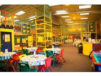 Well established soft play centre with cafe, mascots and party gallery