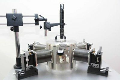 High Temperature Vacuum Probe Station With Electron Microscope