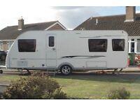 Adria Adora Seine Caravan 4Berth, 2013 Model.