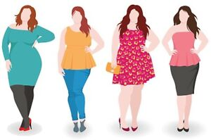 Plus-Size Women's Used Clothing Market!