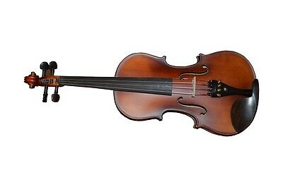 4/4 Vintage Style Violin Outfit (case, Bow, Shoulder Rest And Rosin)