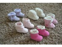Cute baby boots size 0-3 mths