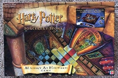 HARRY POTTER & The Sorcerer's Stone Mystery At Hogwarts - Complete - MATTEL 2000