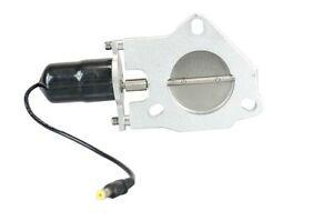 Fits 3.5 inch Electric Exhaust Cutout Control Dump Motor Replacement Swap Billet