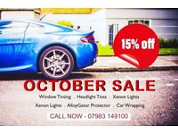 "Window Tinting, Car Wrapping, Xenon Lights"""" Special Price This Week"""" Tulse Hill South London"