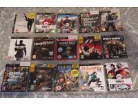 PlayStation 3 PS3 Games Bundle (15 games)