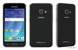 Samsung Galaxy AMP 2, 8 GB, BLACK,expandable 32 GB SD Card slot