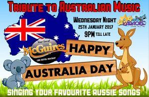 ✧✦Tribute to Australian Music✦✧ Karaoke @ McGuires CBD Hotel Mackay Mackay City Preview