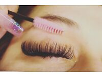 Eyelash extensions Russian or classic in Cambridge