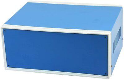 Electronic Enclosures Blue Metal Enclosure Project Case Diy Box Preventive Case