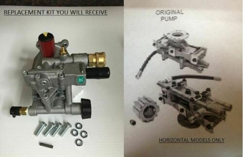 New PRESSURE WASHER PUMP Replaces A01801 D28744 A14292 XR2500 EXCELL DEVILBISS**