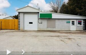Auto repair shop zoned  auto body  property