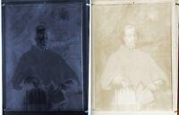 Lastra Fotografica Ortocromatica Negativo Cardinale Benedetto Pamphili - 1940 -  - ebay.it