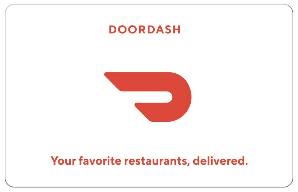DoorDash Gift Card - 25 50 Or 100 - Fast Email Delivery - $25.00