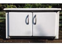 Freestanding Enamel Kitchen Cabinet/Unit
