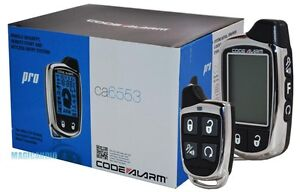 Code Alarm CA6553 Car  Remote Start /Security System/ Keyless Entry/ 2-Way LCD