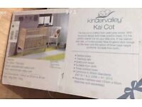 Baby cot bed and mattress NEW
