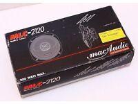 MAC AUDIO MLC2120 SPEAKERS