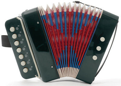 Mini Kids Accordion 7-Key 3 Bass Educational Childrens Instrument Band Toy