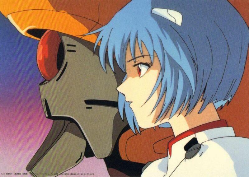 Anime Cel Evangelion Studio Repro #8