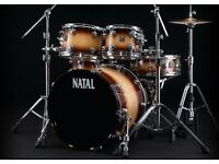 natal original 5 drum shell pack new and boxed