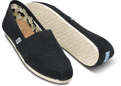 Toms Women's Classics Slip On Authentic Blk/Ash/Red/Navy/Olive Ash Slip On
