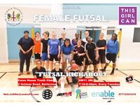 Female Futsal (Indoor Football) Session - Clapham/Battersea