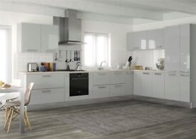 *Brand New* Grey gloss kitchen £1195. Complete with appliances and worktop.