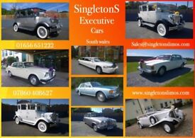 Wedding car hire South Wales & Airport travel