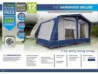 gateway leisure the harewood deluxe awning 975-1050