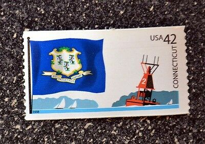 2008USA 4281 42C CONNECTICUT STATE FLAG - FLAGS OF OUR NATION  MINT NH  BOAT