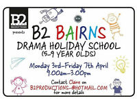 B2 Bairns Drama School - Easter Holidays