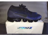 Nike Air Vapormax Dark Blue Navy Men's Trainers UK 10 BRAND NEW IN BOX