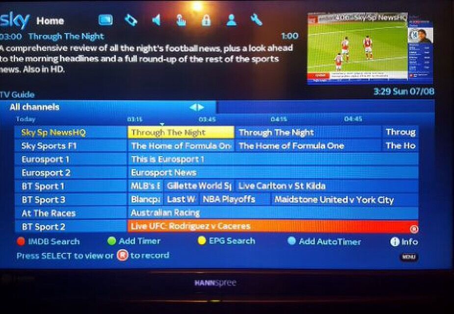 Zgemma 2s tv sky satellite box   in Liverpool, Merseyside
